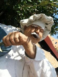 Comedy Chef Statue